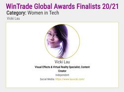 Global Finalist as a Woman in Tech