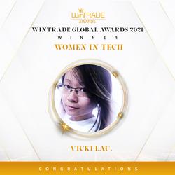 Global Winner as a Woman in Tech