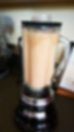 Low carb, low calorie, high protein chocolate shake