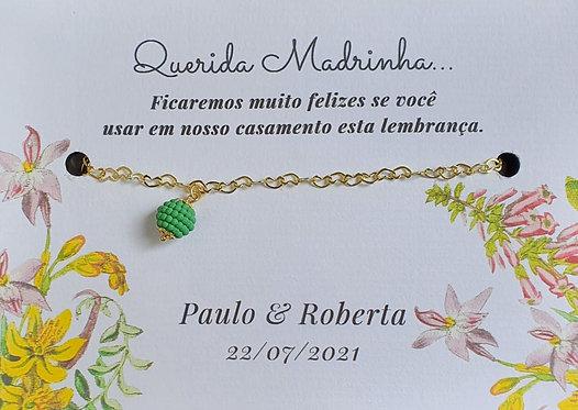 Pulseira Madrinha - Modelo 18