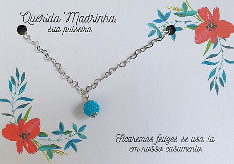 Pulseira Madrinha - Modelo 19