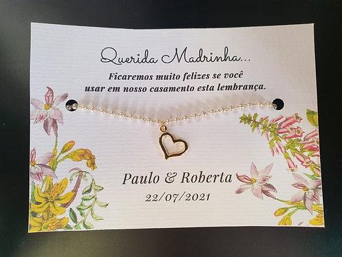Pulseira Madrinha - Modelo 21