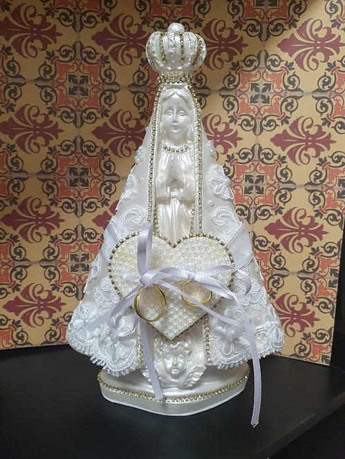 Porta Aliança: Nossa Senhora Aparecida Branca