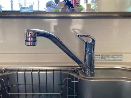 懸案だった水漏れがスッキリ解消! キッチン水栓交換 日高市高萩