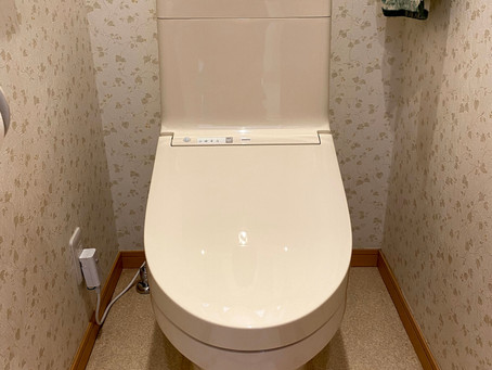 お手入れラクラク!TOTO一体型便器「ZJ1」トイレリフォーム 日高市武蔵台