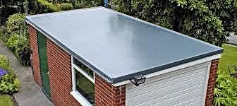GRP garage roof