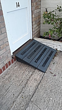 Bespoke access ramp made and installed