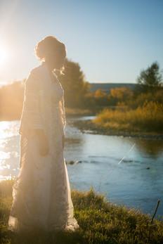 Bride in Montana