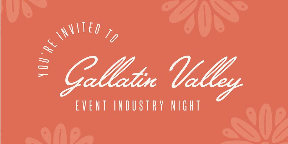 Gallatin Valley Event Industry Night