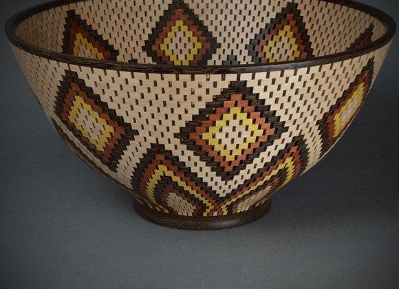 Segmented Diamond Bowl