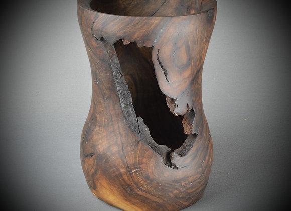 Walnut Burl Vase