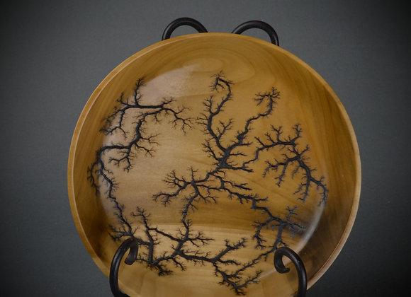 Poplar Bowl with Fractal  burning