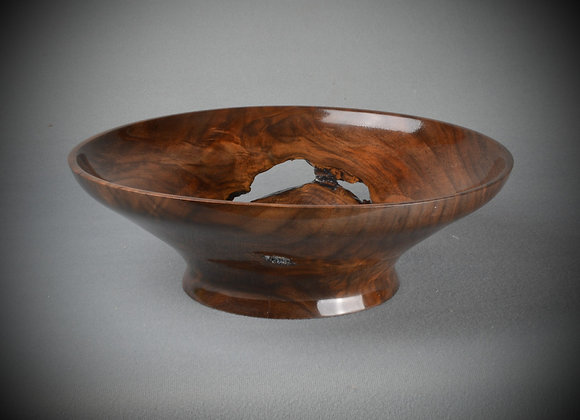 Walnut Crotch Bowl