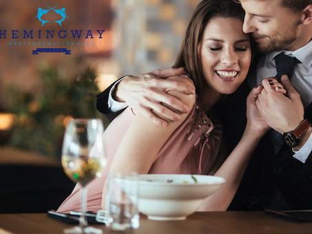 Hemingway étterem, ahol minden évben kiemelt figyelmet kapnak a szerelmesek