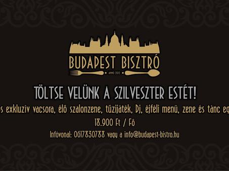 Szilveszter a Budapest Bisztróban!