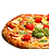 "Thumbnail: 12"" Pizza Base 250g VEGAN"