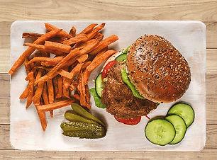 Veggyness-Premium-Burger-Patty-Presentat