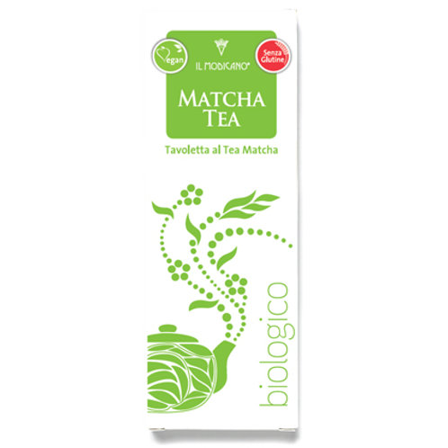 Soya Milk Chocolate with Matcha Tea 60g
