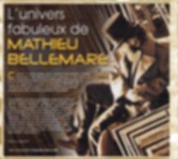 Mathieu Bellemare, Dr Molotov, Chants des Marais et des Morts, Mathieu Bellemare, illustrateur