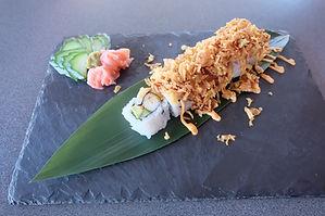 crunch sushi cavalaire barlasuite