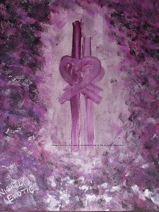 Night Erotic by Shari P Kantor spkcreative.com sensual abstract art