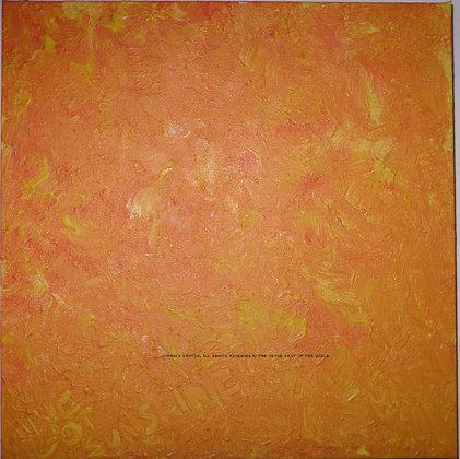 I've Got Sunshine by Shari P Kantor spkcreative.com orange abstract art
