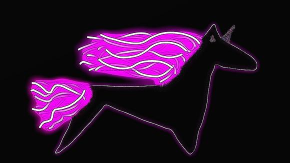 Confetti the Unicorn by Shari P Kantor spkcreative.com digital art