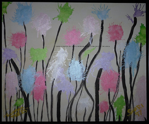 Truffula Trees by Shari P Kantor spkcreative.com whimsical landscape by a female artist
