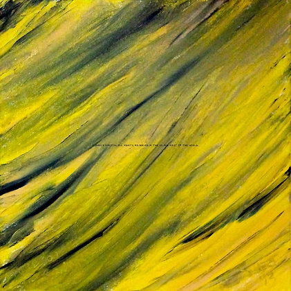 Make You Hit Rewind by Shari P Kantor spkcreative.com black and yellow abstract art by an American artist