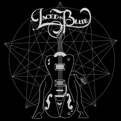 laced-in-blue-logo-stamp-vector-black-white-guitar-girl-woman-stellated-dodecahedron-bass-get-your-f