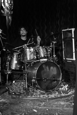 ian_leblanc_drummer_laced_in_blue_alexs_bar