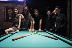 LACED_IN_BLUE_BAND_LONG_BEACH_KAYLEE_ROBIN_JERRY_VALLE_IAN_LEBLANC_WILL_SMITH_NATE_SIMS_POOL_TABLE