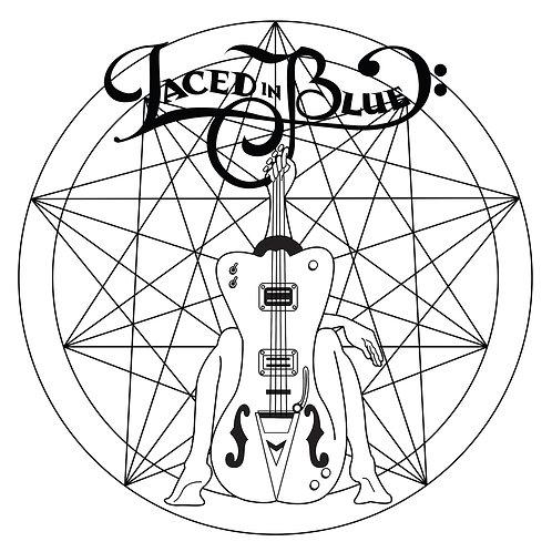 Black n White Logo Sticker