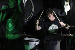 kaylee-robin-ian-leblanc-singer-drummer-drumming-drums-laced-in-blue-prospector-lbc