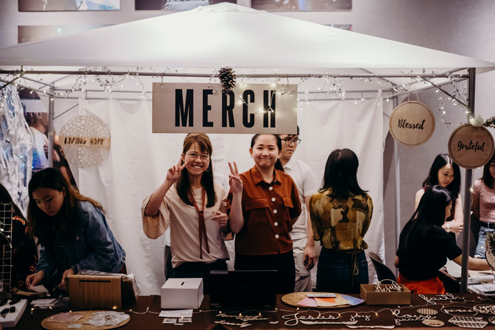 Merchandise Booth
