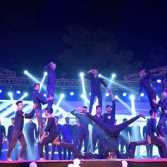 Pyramid Choreography