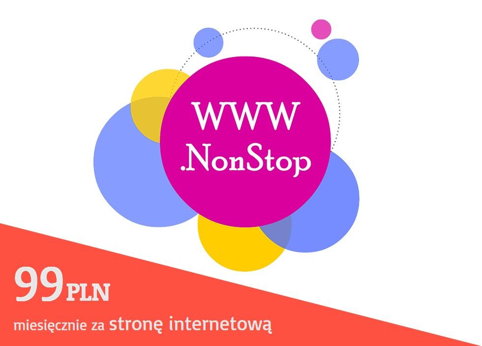 WWW.NonStop - strony internetowe w abonamencie