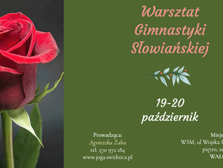 Warsztat Gimnastyki Słowiańskiej w Wałczu