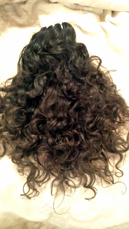 """All Curled Up""  Raw Indian Natural Girl Curly"