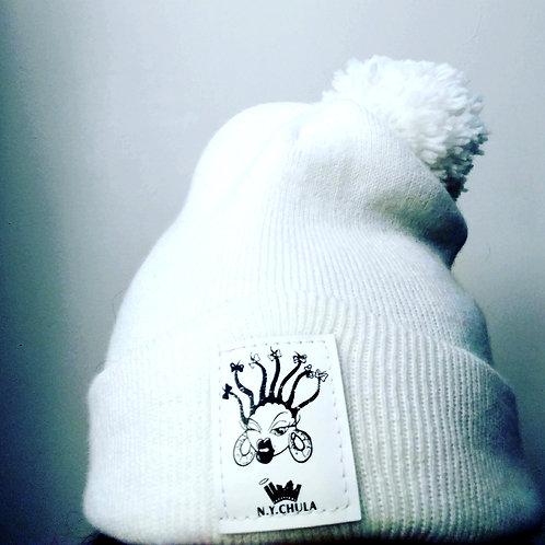 Cream Vegan Hat