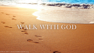Heavenly scrolls are being released to those who 'Walk with God'