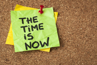 The Time Is Now - A time of activation and release