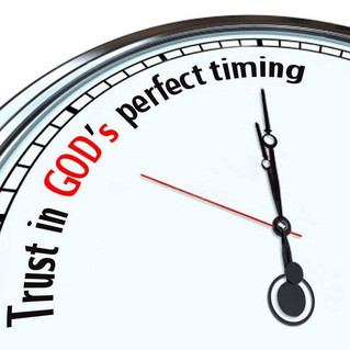 Trust in the Timing of God