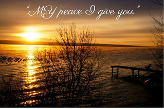 Receive the gift of peace from the Prince of Peace