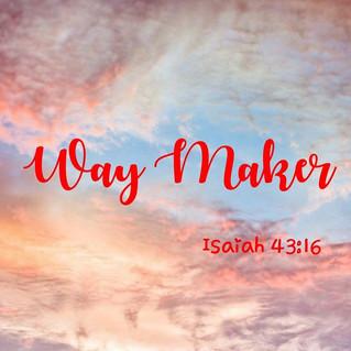 USA - Do you believe I am the way maker?