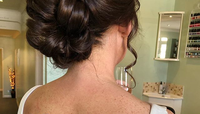 Bridal Hair up by Kelly at Harringtons