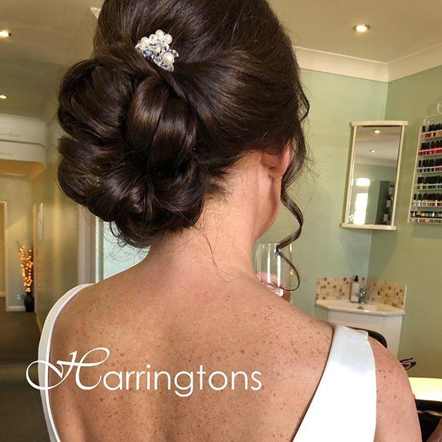 Bridal Hair up by Kelly at Harringtons