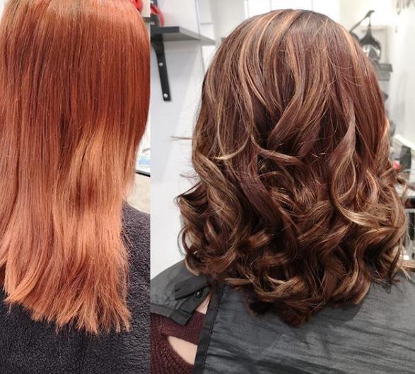 Hair by Kelly at Harringtons Hair and Be