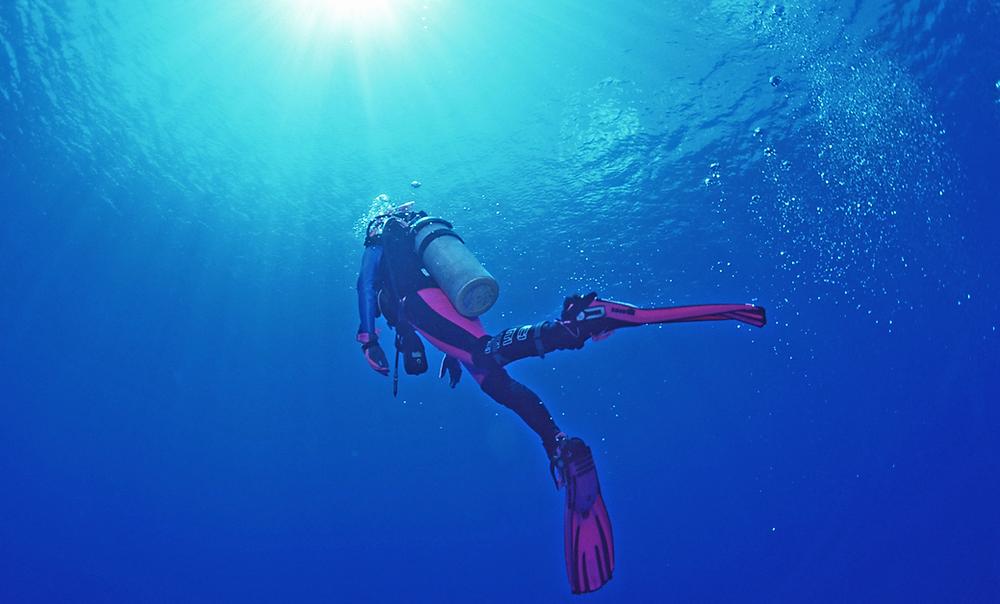 Dicas de Flutuação debaixo da água