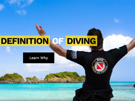 NAUI - Formação de qualidade no mergulho através da educação